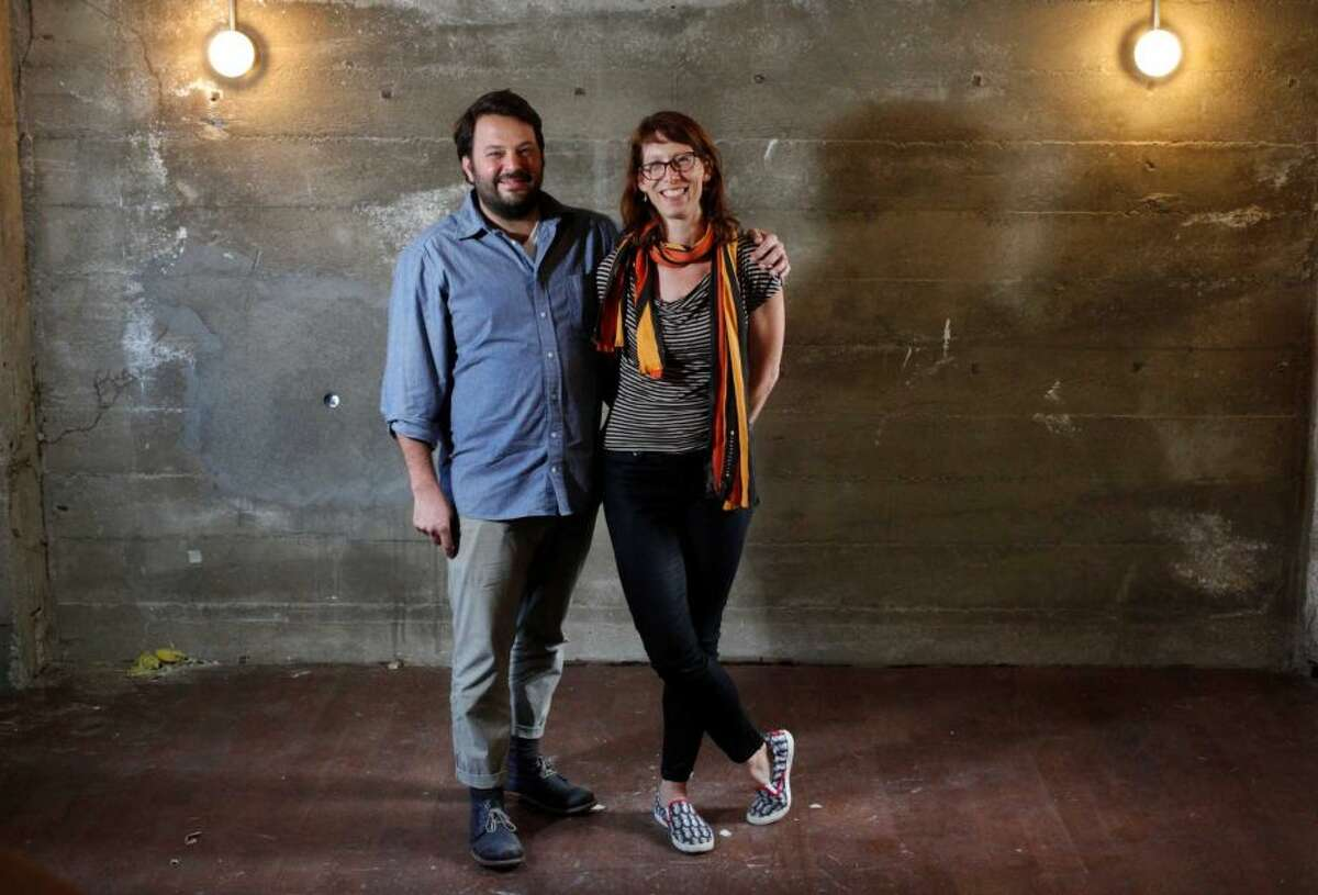 FILE - The Progress and State Bird Provisions chefs Stuart Brioza and Nicole Krasinski will open a new, meat-free restaurant in the Haight.