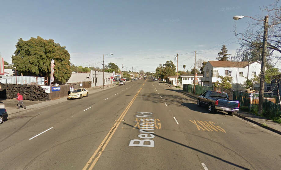 A'Tierra Westbrook, 21, was shot and killed while driving a car on the 300 block of Benicia Road in and unincorporated area near Vallejo. Photo: Google Maps