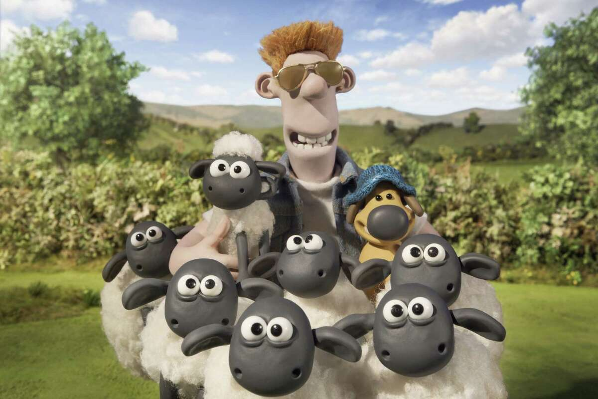 """""""Shaun the Sheep Movie"""" features Plasticine characters viewers may recognize from """"Wallace and Gromit."""""""