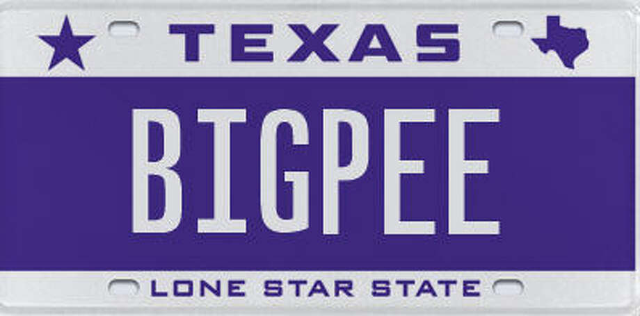 Rejected license plates so far in 2015 houston chronicle for Texas department of motor vehicles dallas tx