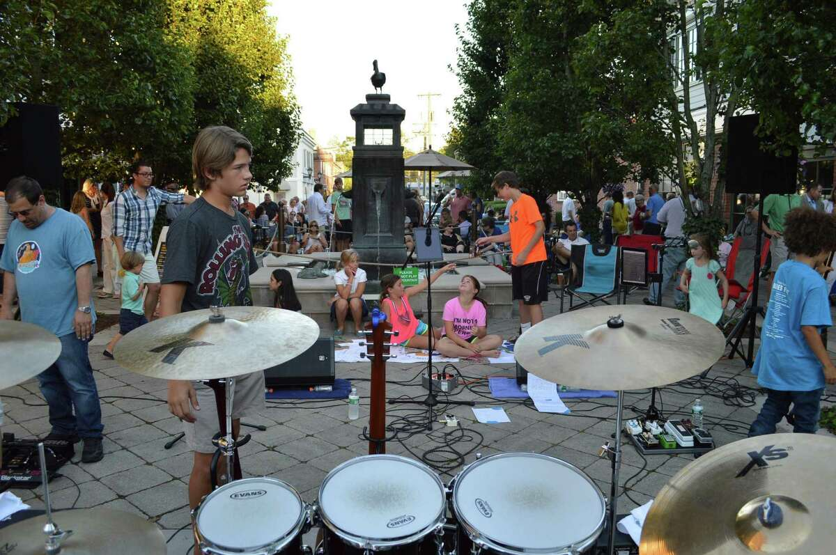 Adam Ezrais playing Darien's Summer Nights concert series at the Grove Street Plaza on Friday. Find out more.
