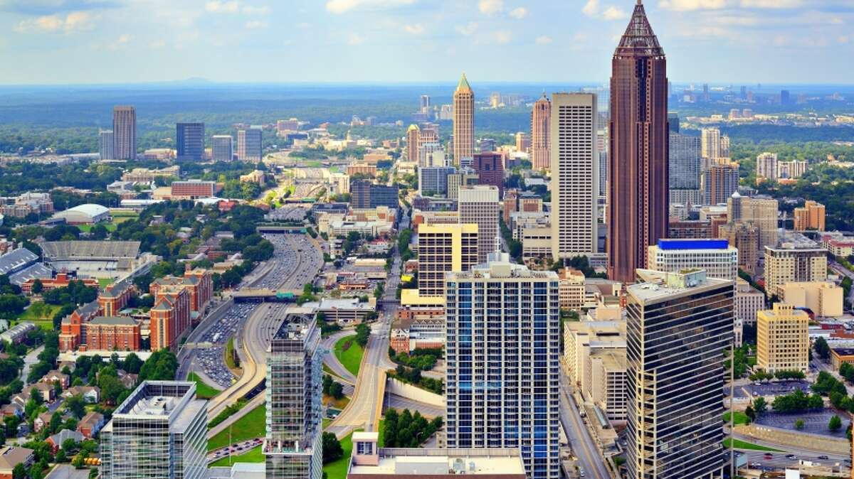 8. Atlanta Average hours spent looking for parking each year, per driver: 50 hours Annual search cost per driver: $1,043 Annual search cost per city: $251 million