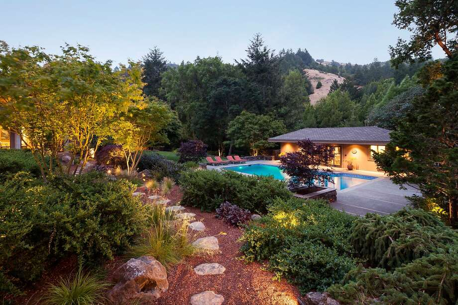 1220 Nicasio Valley Road in Nicasio was built in the early 1970s and recently updated. Photo: Jacob Elliott Photography