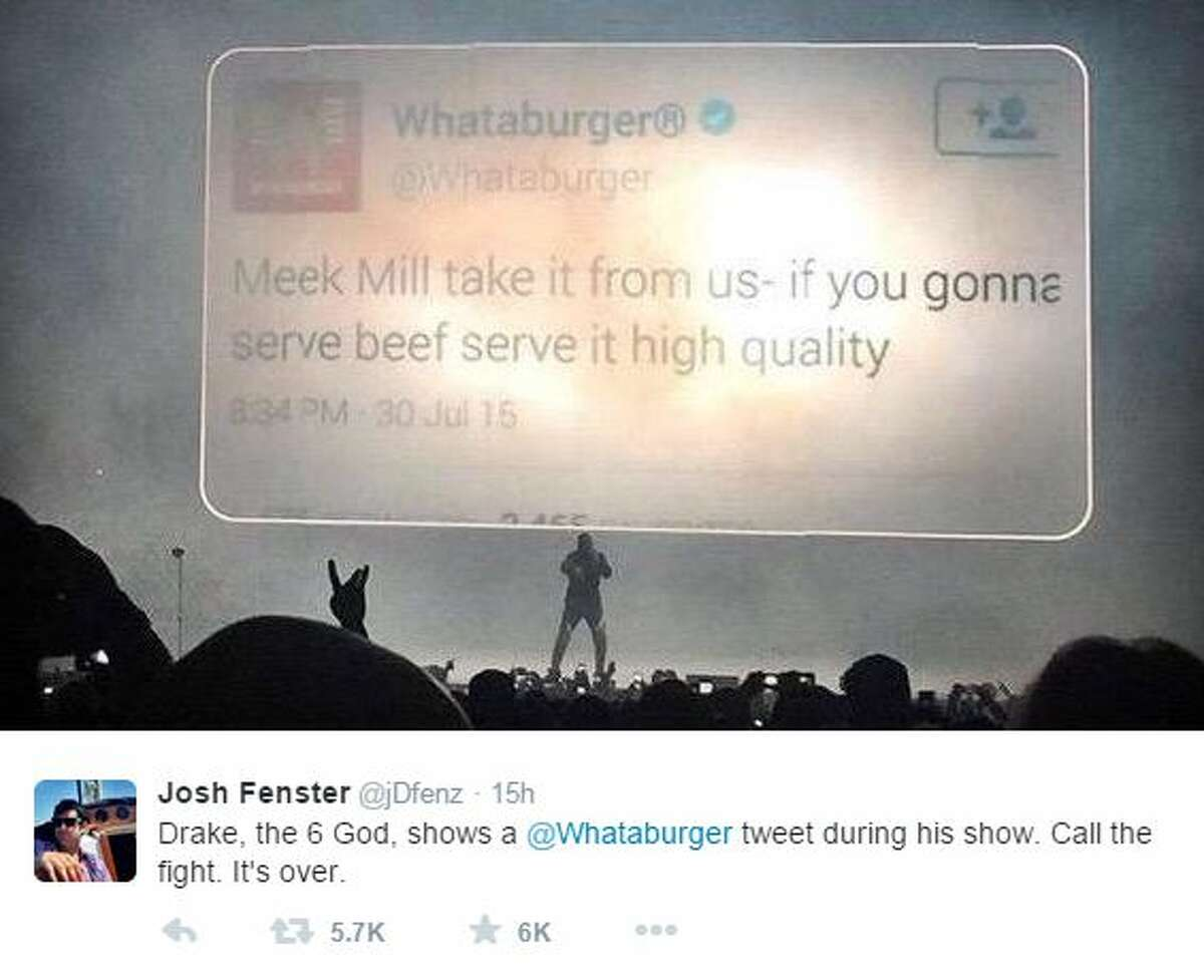 """""""Meek Mill take it from us if you gonna serve beef serve it high quality"""""""