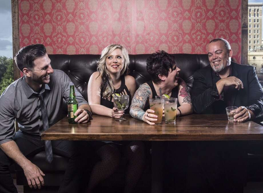 Members of The Band Hennessy are, from left, Chris Piper, Heather Miller, Ashley Hennessy and Christian Weigand.Members of The Band Hennessy are, from left, Chris Piper, Heather Miller, Ashley Hennessy and Christian Weigand.