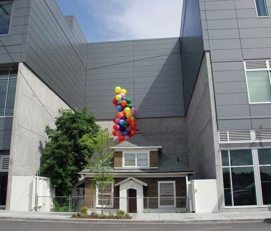 "The ""Up House"" has become a celebrated structure in Seattle. Photo: Edith Macefield House/Facebook"