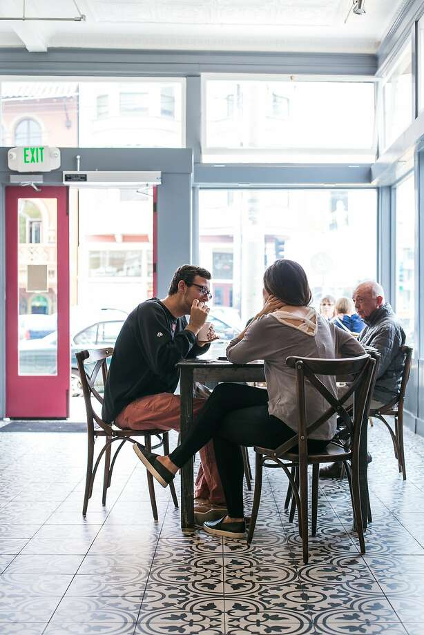 Fuel up with a cup of Four Barrel Coffee and a kouign-amann at B. Patisserie (2821 California St.) then cross the street to B on the Go, the bakery's new spinoff cafe, shown here, and order from a menu of delectable salads and sandwiches. Photo: Jen Fedrizzi, Special To The Chronicle