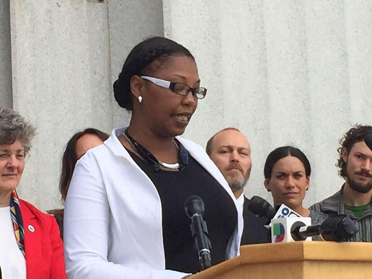 Ex-offender Sharron Bolden says she is