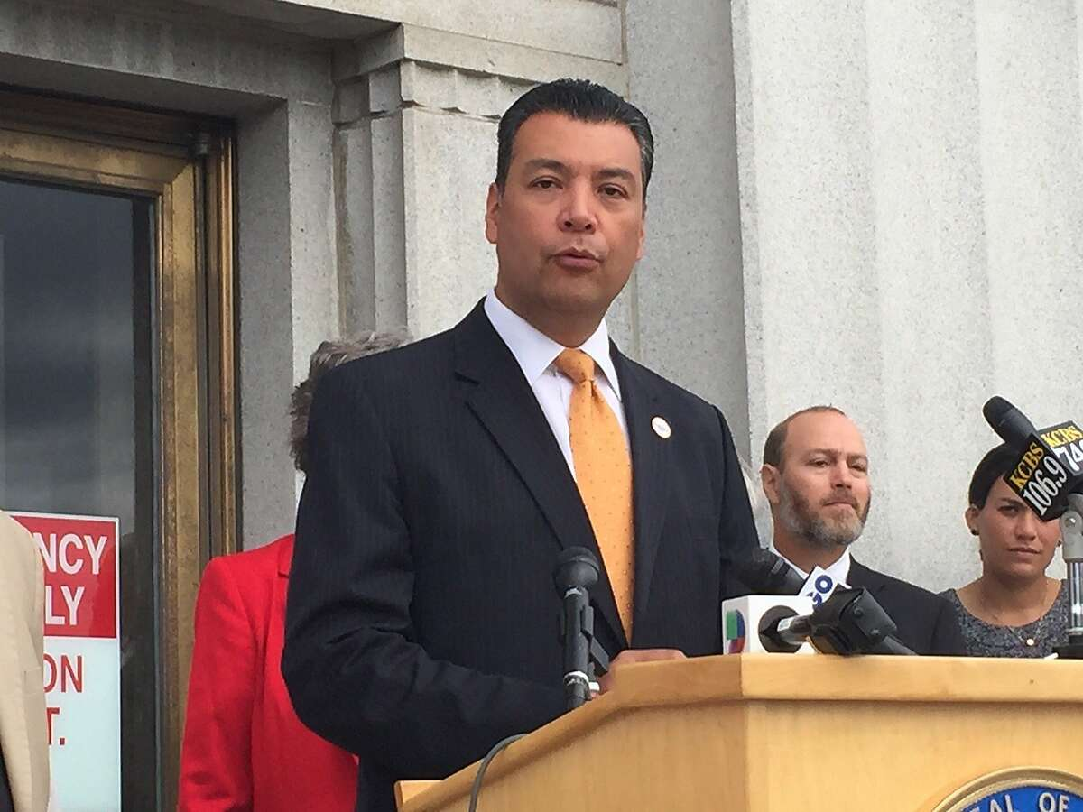 Secretary of State Alex Padilla announces that voting rights will be remain intact for people who were formerly incarcerated and served sentences for nonviolent felonies.