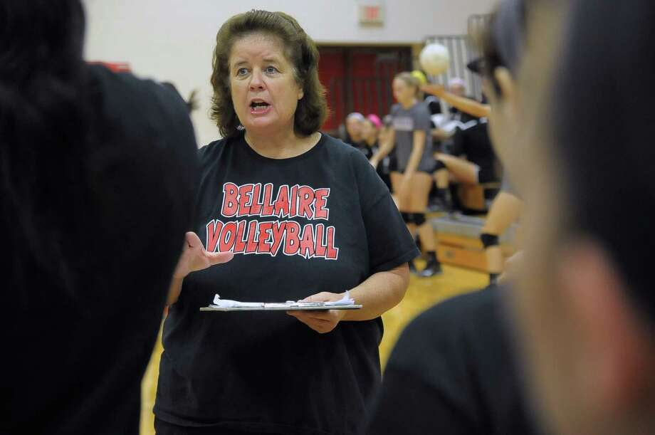 Bellaire head volleyball coach Ap Clarke has assembled another solid group picked to challenge for a district championship this fall. Photo: Copyright Tony Bullard 2014, Freelance Photographer / Copyright 2014 Tony Bullard & the Houston Chronicle