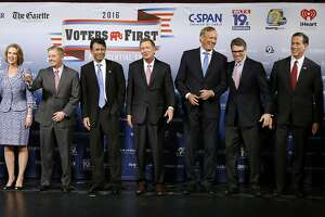 Debate field is set: Trump, Bush in; Santorum, Fiorina out - Photo