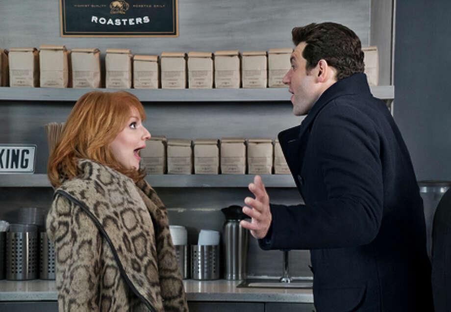 "Julie Klausner and Billy Eichner in ""Difficult People."""