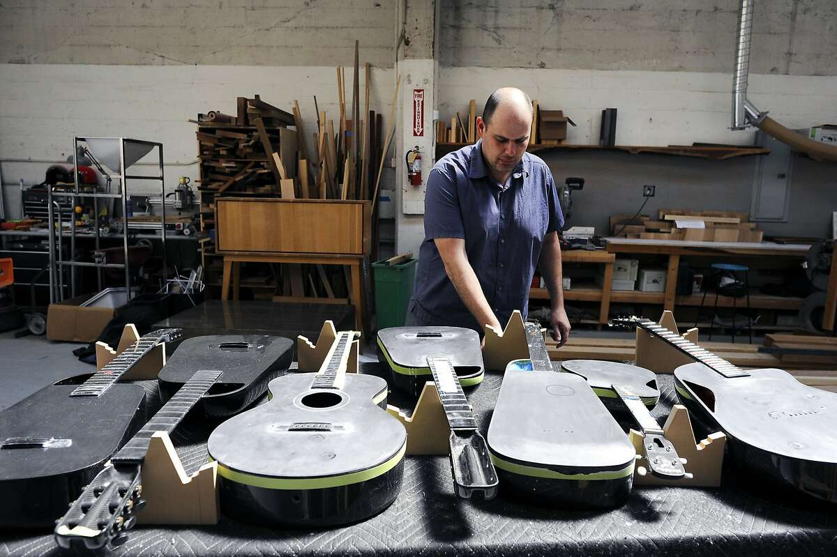 Blackbird Guitars makes its gorgeous guitars and ukuleles in a facility on Folsom St. in San Francisco. Workshop tours are available by appointment.
