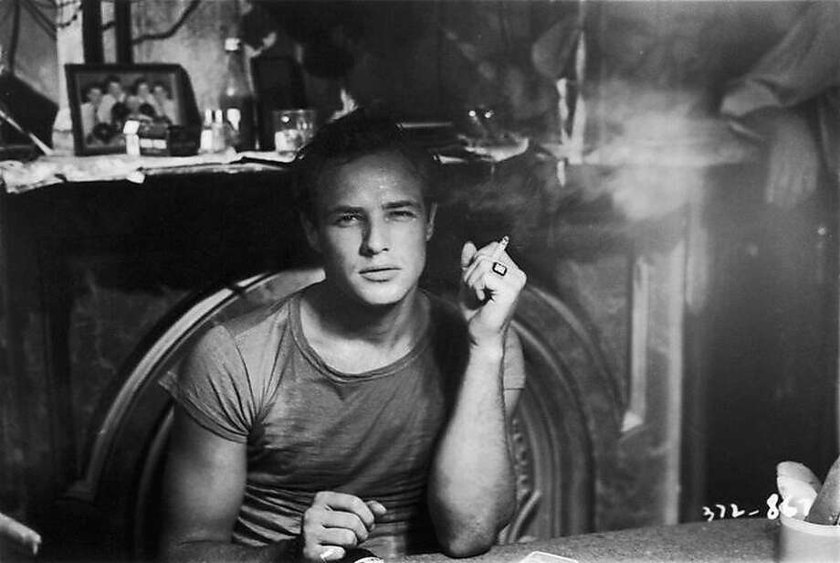 "Marlon Brando in the film of ""A Streetcar Named Desire,"" a performance still famous and still parodied decades later. Photo: Abramorama"