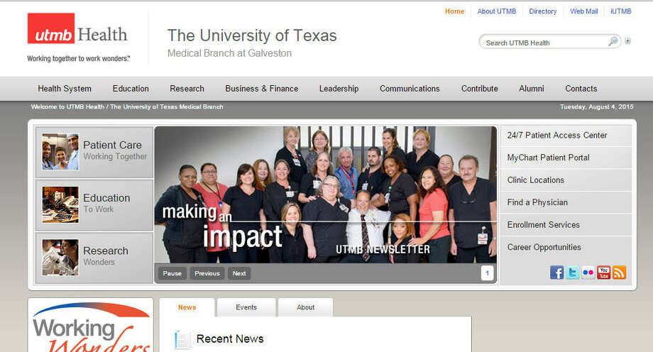 University of Texas Medical Branch Hospitals GalvestonOverall rating for avoiding infections: 3 out of 5 (Source: Consumer Reports) Photo: Houston Chronicle