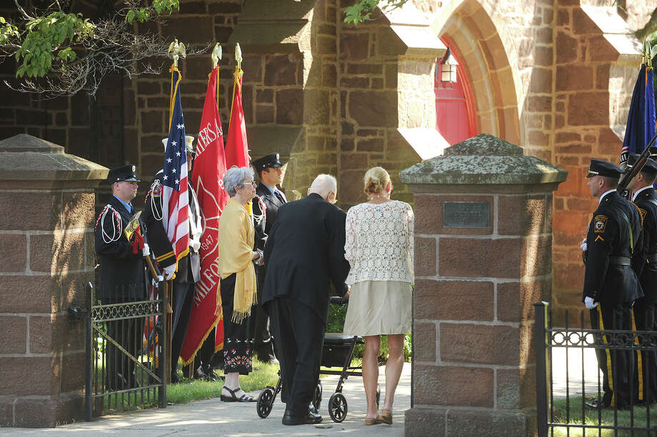 The funeral service for former Milford mayor and city clerk Alan Jepson at St. Peter's Episcopal Church on River Street in Milford, Conn. on Tuesday, August 4, 2015. Photo: Brian A. Pounds / Hearst Connecticut Media / Connecticut Post