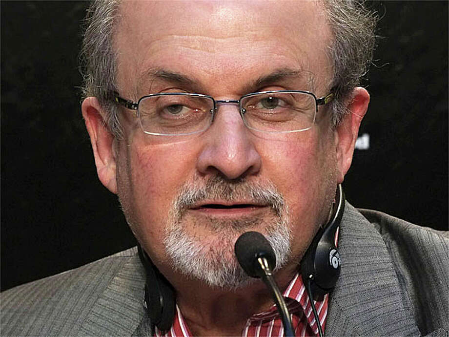 Writer Salman Rushdie, shown in this 2014 photo, will deliver the Westport Library's Malloy Lecture in the Arts this October. Photo: Getty Images / Getty Images / Westport News