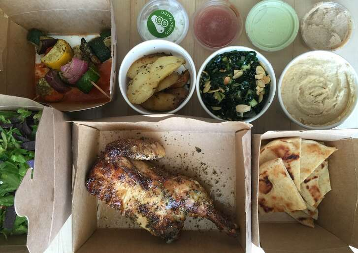 Dinner from Spinnerie, delivered by DoorDash