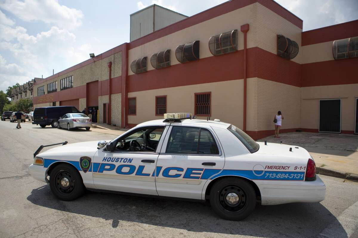 Federal agents raid a tortilla factory in the Heights, Tuesday, Aug. 4, 2015, in Houston. The raid began about 10 a.m. at La Espiga de Oro at 1200 15th Street near Shepherd. Eleven workers from the factory were detained at the scene.