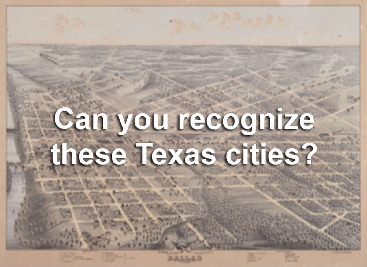 Old photos can tell us a lot about what life was like for for early residents of Texas, but can you figure out what each city is based on the historic images?