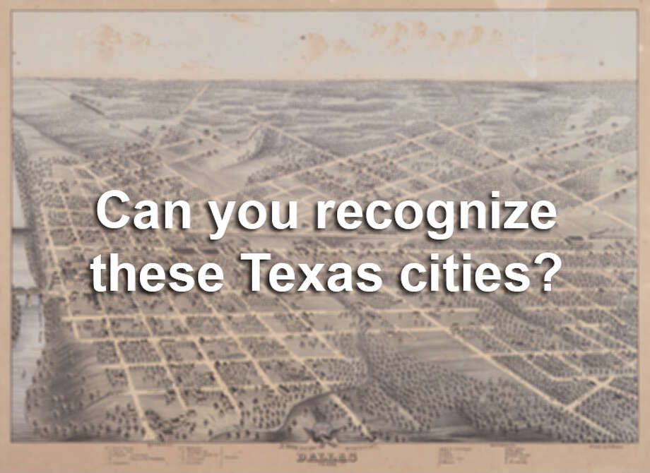 Old photos can tell us a lot about what life was like for for early residents of Texas, but can you figure out what each city is based on the historic images? Photo: SAEN