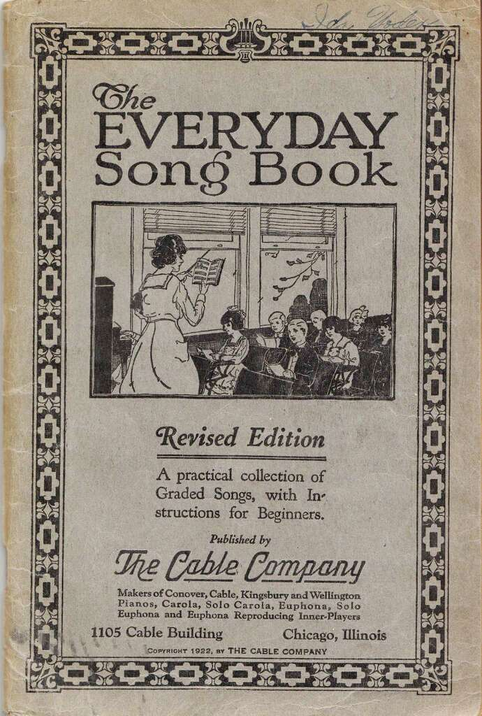 A 1922 Songbook Was Submitted As Evidence That The Song Is No Longer Covered By Copyright