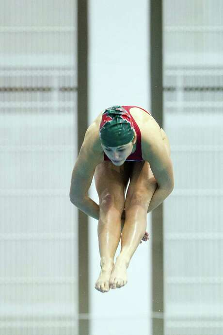 Diver Kassidy Cook of The Woodlands will team with renowned coach Kenny Armstrong in a bid to make the U.S. team. Photo: Smiley N. Pool, Staff / © 2012  Houston Chronicle
