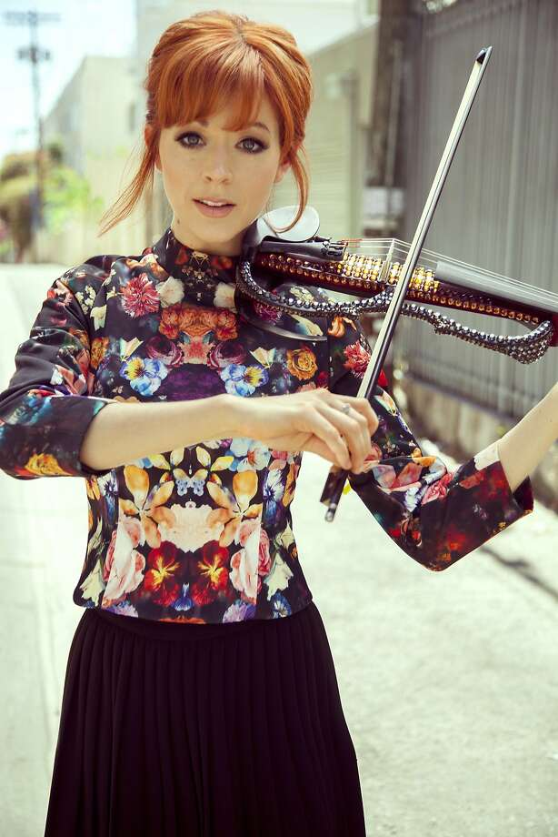 Lindsey Stirling plays the Greek Theatre Photo: Kate Szatmari