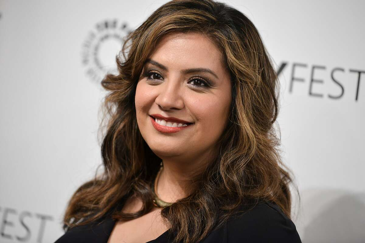 CORRECTS NAME TO CRISTELA ALONZO INSTEAD OF TRACEE ELLIS ROSS - Cristela Alonzo arrives at the 2014 PALEYFEST Fall TV Previews - ABC on Thursday, Sept. 11, 2014, in Beverly Hills, Calif. (Photo by Richard Shotwell/Invision/AP)