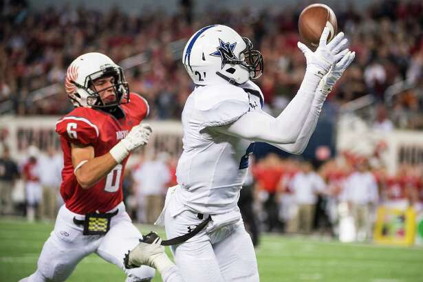 Navasota's Tren-Davian Dickson is a highly recruited wide receiver after helping the Rattlers to a state championship last season.