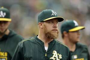 A's pitching probables, Aug. 5-7 - Photo