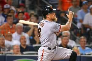 Hunter Pence's 3-run HR leads Giants past Braves - Photo