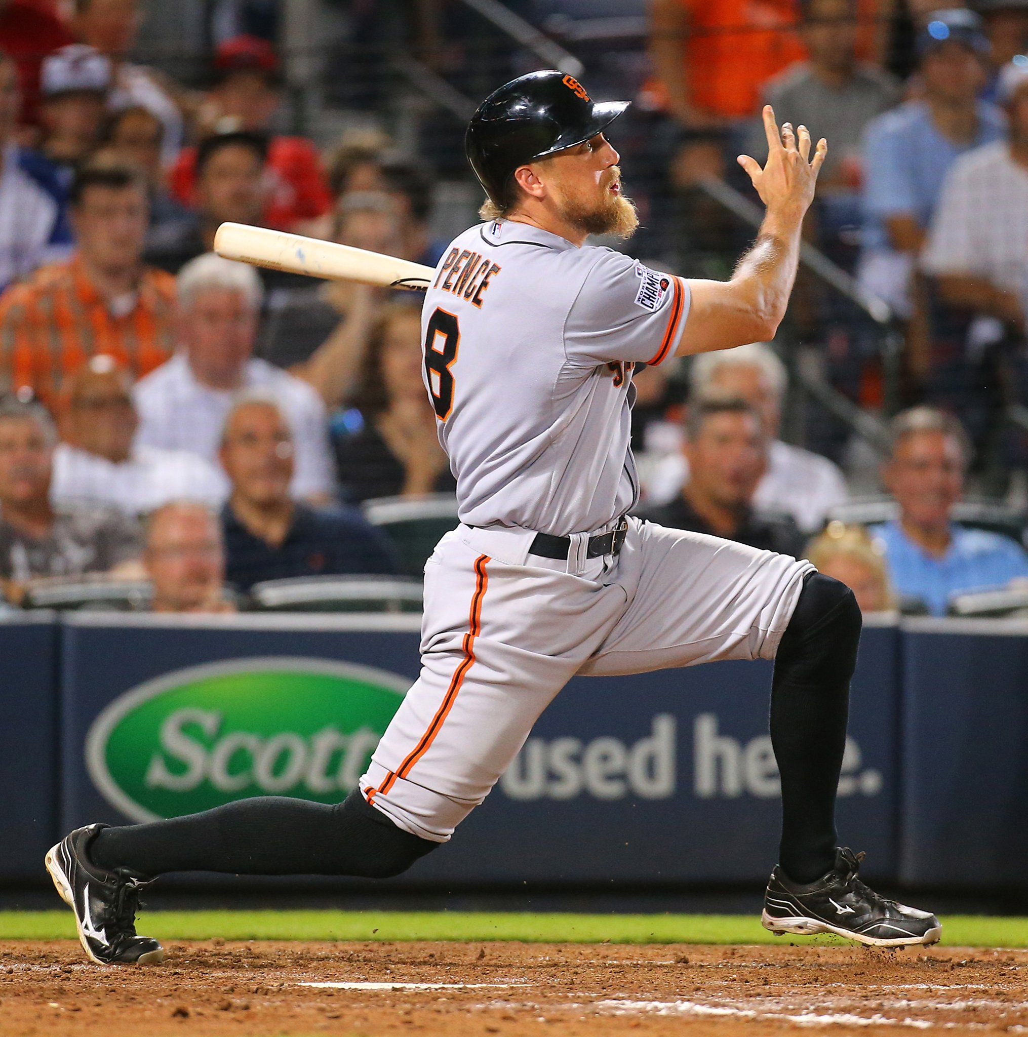 Sf Chronicle Classifieds: Hunter Pence's 3-run HR Leads Giants Past Braves