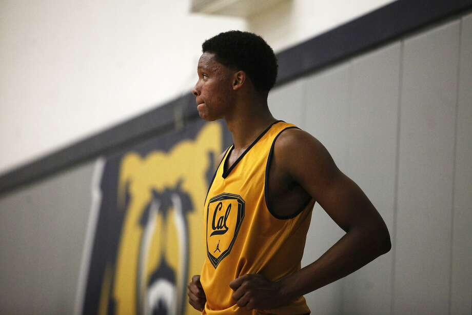 UC Berkeley freshman forward Ivan Rabb looks on during practice on Tuesday, Aug. 4, 2015. Photo: Cameron Robert, The Chronicle