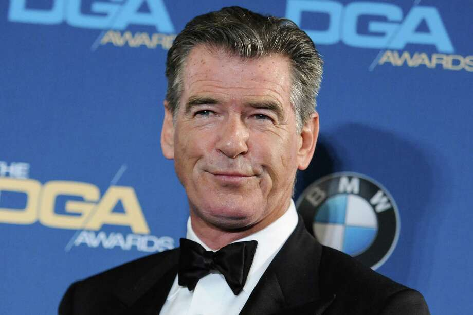 FILE - In this Feb. 7, 2015 file photo, Pierce Brosnan attends the Press Room at the 67th Annual DGA Awards, in Los Angeles. Police say former James Bond actor Brosnan has been stopped at a Vermont airport security checkpoint because of a knife he was carrying. Burlington Police Department Lt. Shawn Burke says airport authorities told him about Brosnan's encounter with Transportation Security Administration agents. He said Tuesday, Aug. 4, 2015, that police wouldn't be called to Burlington International Airport for such an incident and they don't have a report on it.  (Photo by Richard Shotwell/Invision/AP, File) Photo: Richard Shotwell, INVL / Invision