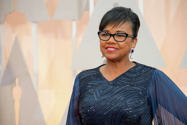 Film Academy President Cheryl Boone Isaacs arrives for the live ABC Telecast of The 87th Oscars® at the Dolby® Theatre in Hollywood, CA on Sunday, February 22, 2015.