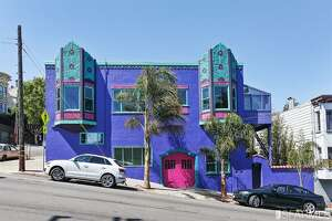 Bright purple Deco masterpiece in S.F. is one of a kind - Photo