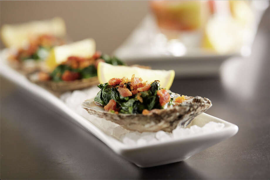 Oysters at the new IN + Out Bar Bites menu at Bonefish Grill, which has three Houston-area locations. Photo: Courtesy Photo, Bonefish Grill