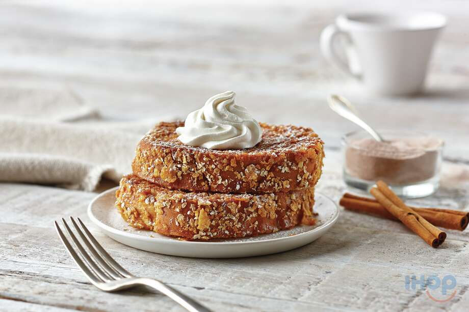 new  Cinnamon-Sugar Double-Dipped French Toast from IHOP
