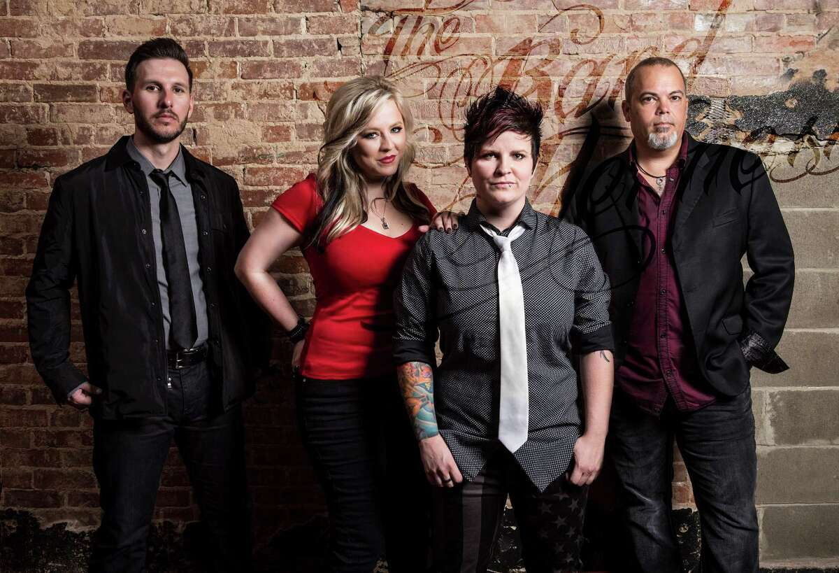 The Band Hennessy, from left: Chris Piper, Heather Miller, Ashley Hennessy, Christian Weigand.