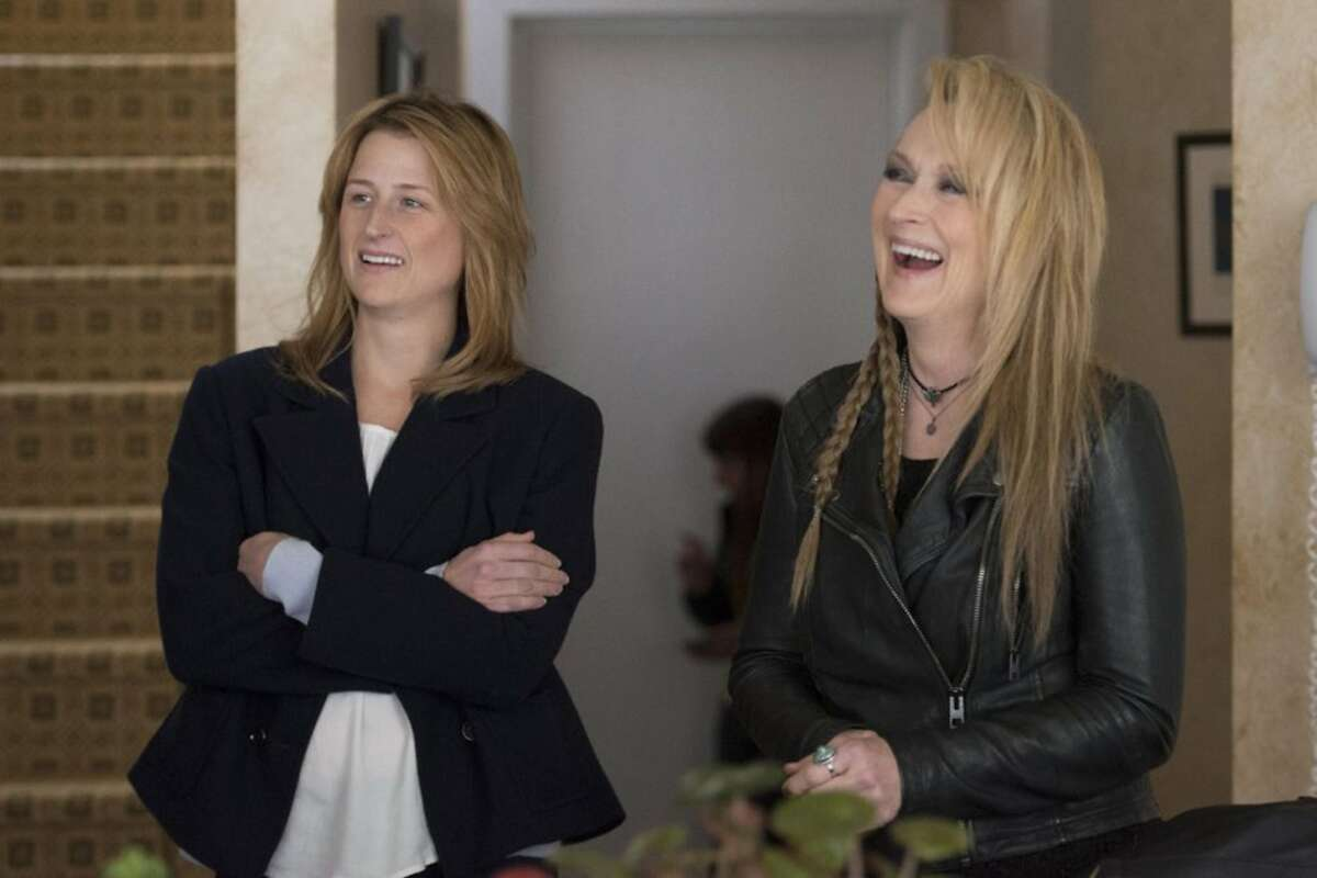"""Still of Meryl Streep and Mamie Gummer in """"Ricki and the Flash."""" (Sony Pictures Entertainment)"""