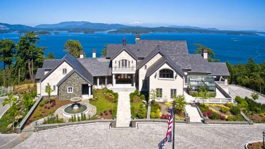"This is not your average ""single-family home."" With uninterrupted views of the water and Orcas Island beyond and a private setting on 21 acres, this home on San Juan Island is a grand island estate. See the full listing here. Photo: Michael Walmsley"