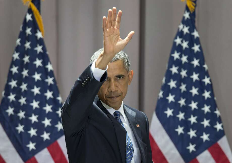 President Obama argued that the Iran accord builds on the tradition of diplomacy that won the Cold War. Photo: Carolyn Kaster, Associated Press