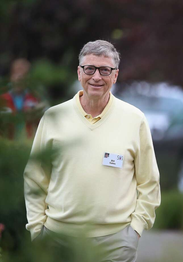 Bill Gates tops the Forbes list, with a net worth of $79.2 billion. Photo: Scott Olson, Getty Images