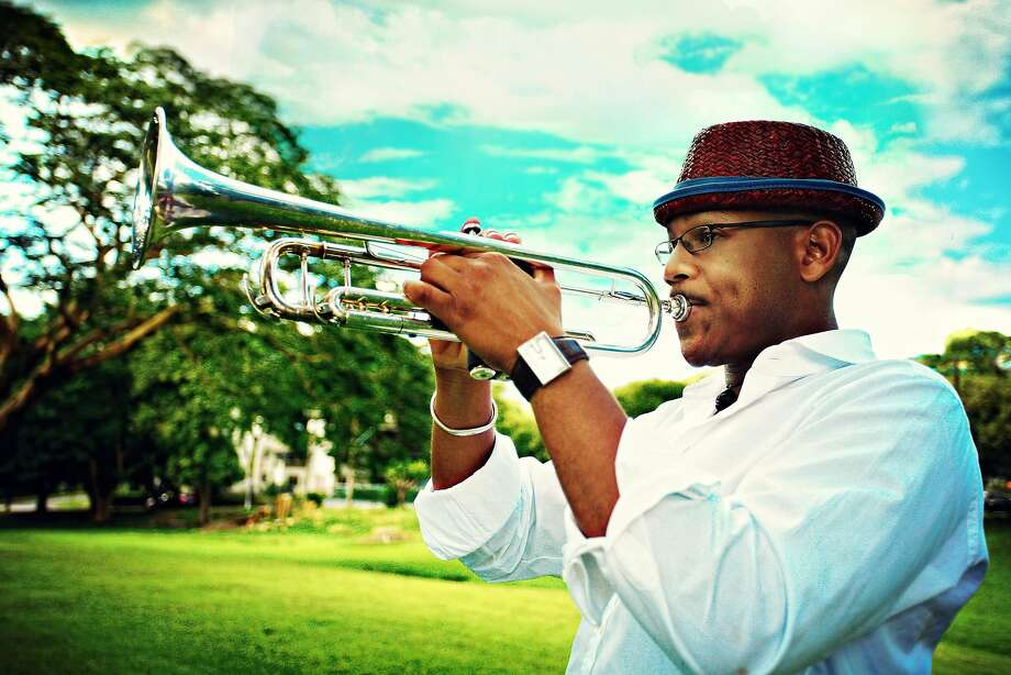 Etienne Charles performs at the San Jose Jazz Summer Fest this weekend. Photo: JP Cutler Media
