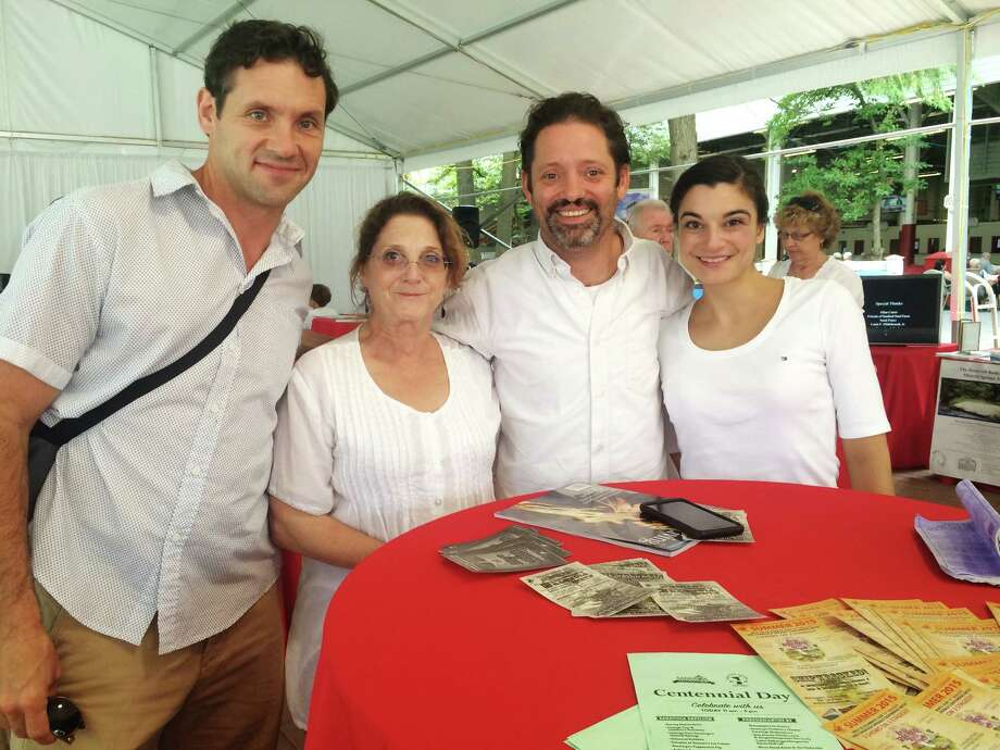 Were you Seen at Saratoga Centennial Day, a celebration of the city's tradition of health, history, horses and the arts, held at Saratoga Race Course on Wednesday, Aug. 5, 2015? Photo: Alexis Smith