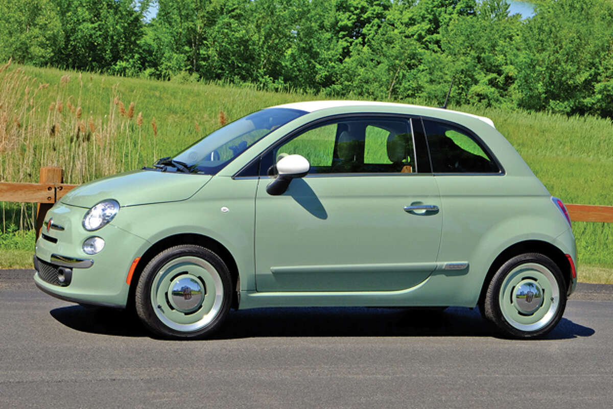 2015 Fiat 500 1957 Edition (photo © Dan Lyons, all rights reserved)