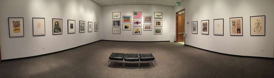 """Veinticinco"" can be viewed through Oct. 12 in the UTSA Downtown Art Gallery. Photo: Courtesy UTSA Art Collection / Courtesy UTSA Art Collection"