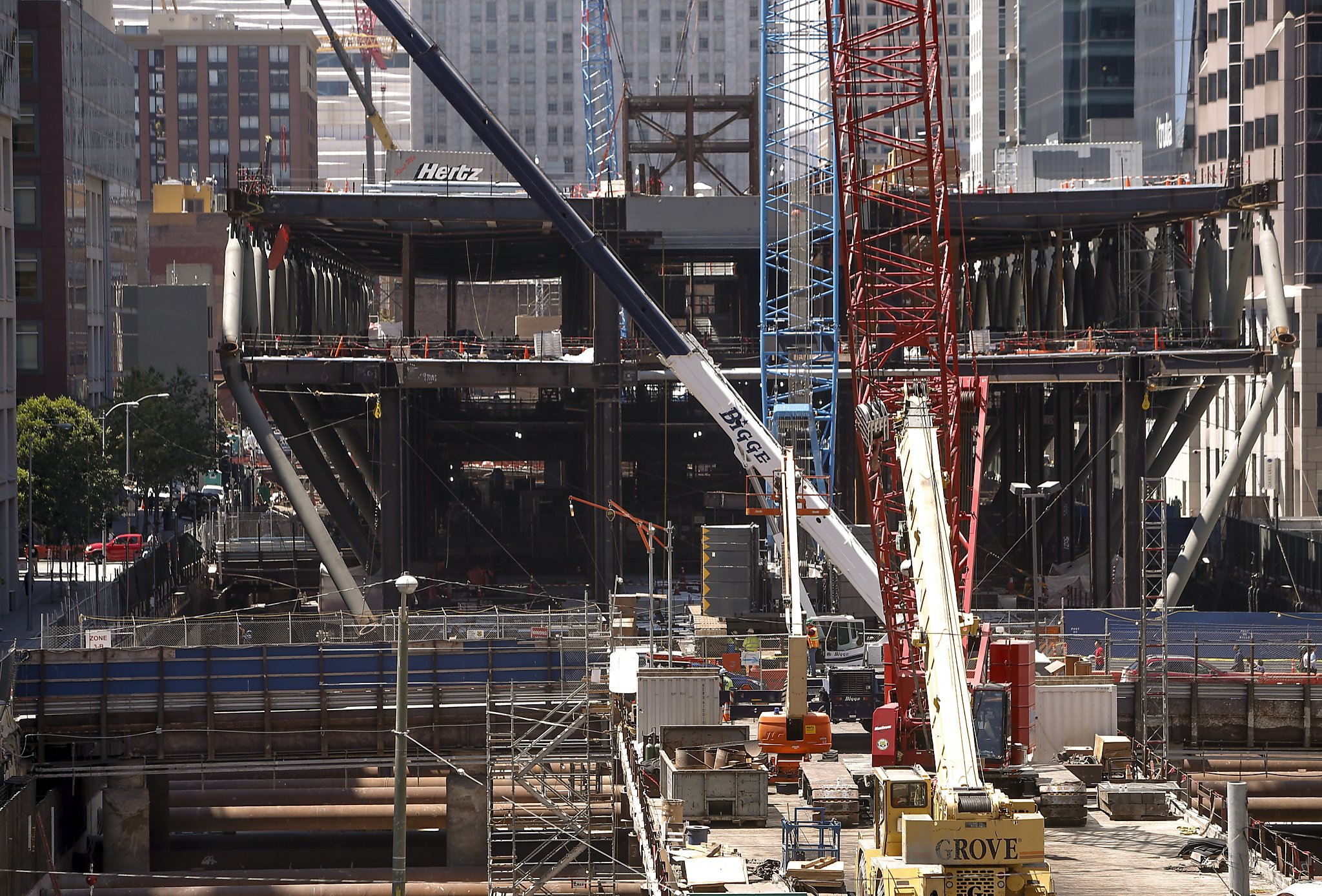 Image result for construction in san francisco downtown