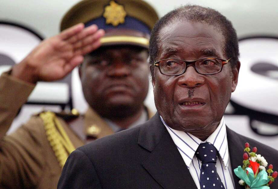 This file photo shows Zimbabwe President Robert Mugabe who has used brute force to hold power. It would a human rights outrage to extradite dentist Walter Palmer to Zimbabwe. Photo: Reuters File Photo / X02381